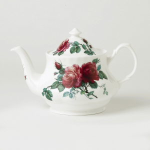 English Rose Fine Bone China Teapot – Roy Kirkham, England