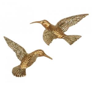 PÅ SALG! Gisela Graham Gold Hummingbird