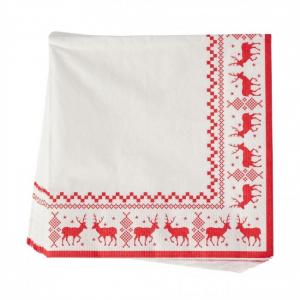 PÅ SALG!Nordic Stag Christmas Napkins 20pk – Gisela Graham