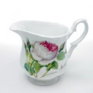 Redouté Roses small cream/milk jug – Roy Kirkham, England