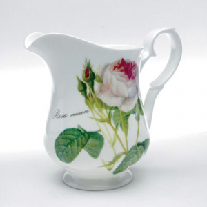 Redoute Fine Bone China Rose Milk Jug – Roy Kirkham, England