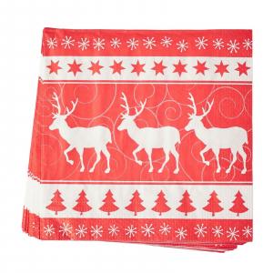 PÅ SALG!Christmas Stag paper napkins 20pk – Gisela Graham