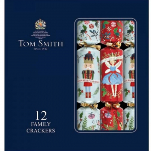PÅ SALG! Tom Smith Christmas Crackers 12pk