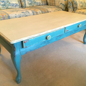 Provence Blue Coffee Table – by English Rose Design