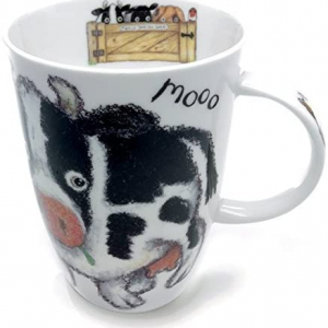 Fine Bone China – Cow Mug – Roy Kirkham, England