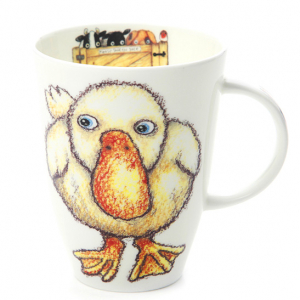 Fine Bone China – Duck Mug – Roy Kirkham, England