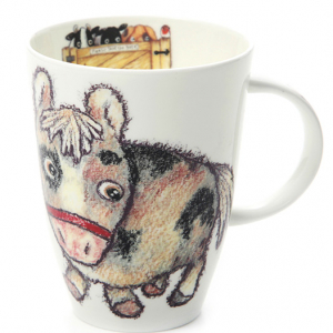 Fine Bone China – Horse Mug – Roy Kirkham, England