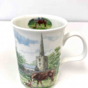 Fine Bone China ~ Home Horse & Foal mug ~ Row Kirkham, England