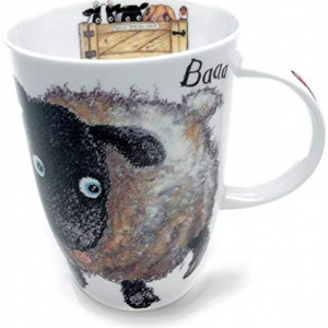 Fine Bone China – Sheep Mug – Roy Kirkham, England