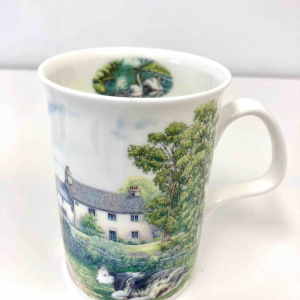 Fine Bone China ~ Home cows mug ~ Row Kirkham, England
