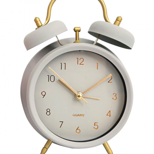 Alarm Clock – French Grey – 17x12cm