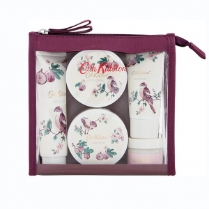 Cath Kidston, London –  Fresh Fig Travel Set