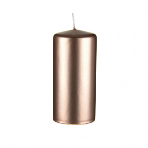 Copper/Rose Gold Candle Pillar 150 x 70mm