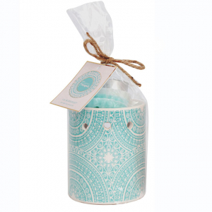 Oil Burner Set Festival Blue 9x11cm