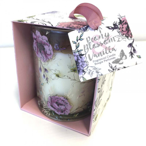 Large Peony Blossom Scented Candle Diffuser