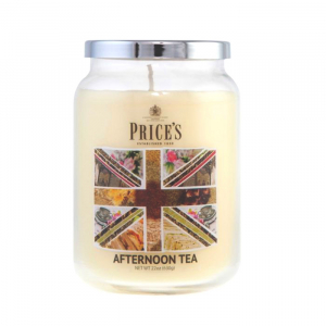 Price's British Afternoon Tea Large Candle Jar