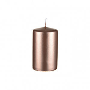 Copper/Rose Gold Candle Pillar 100 x 60mm