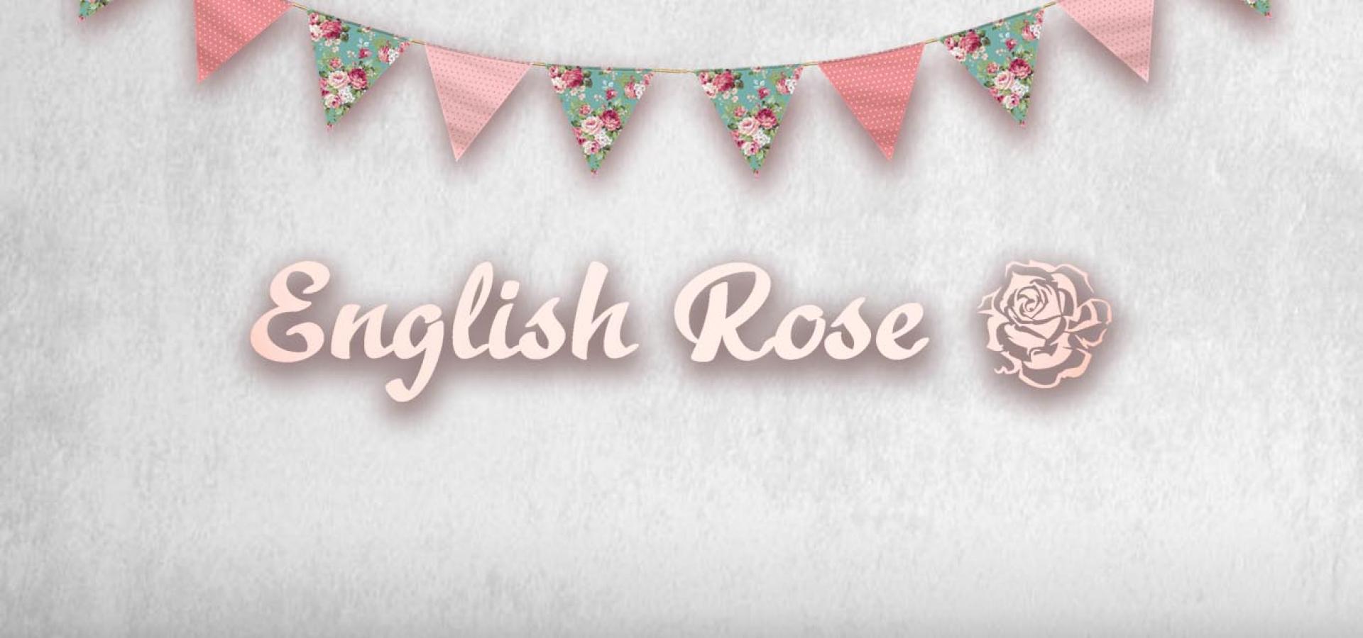English Rose Summer Banner