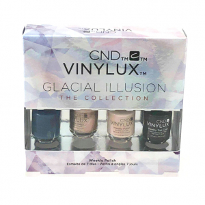 CND Vinylux Glacial Illusion Nail Polish Gift Set – 4×3.7ml